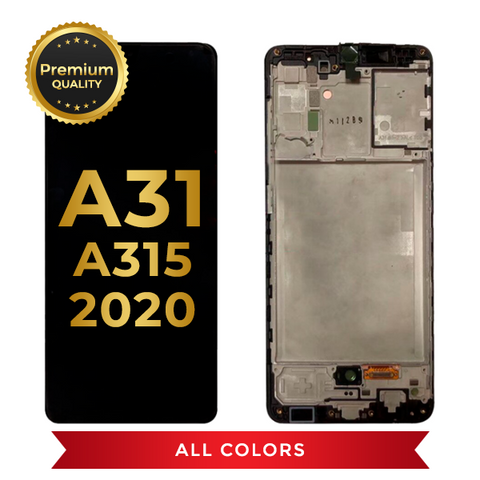 OLED Assembly With Frame For Samsung Galaxy A31 (A315 / 2020) (All Colors)