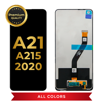 OLED Assembly Without Frame For Samsung Galaxy A21 (A215 / 2020) (All Colors)