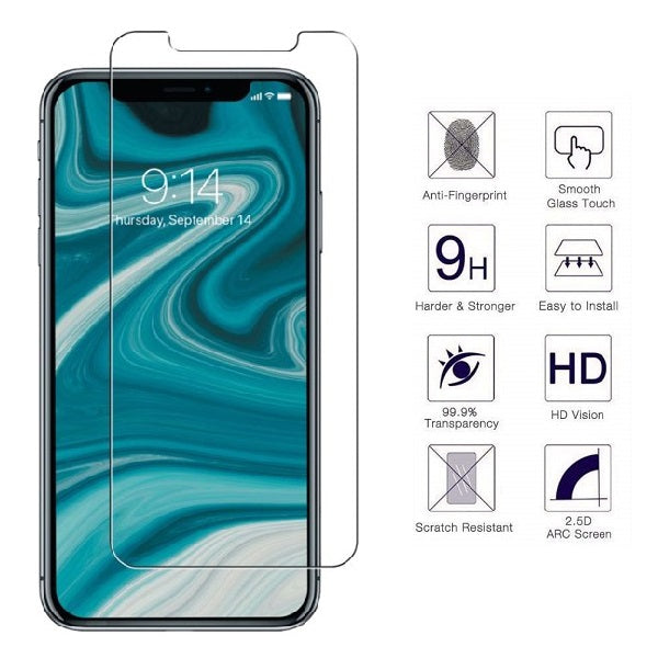 iPhone XR 0.3mm 2.5D Tempered Glass Screen Protector (Clear) (4169030008896)