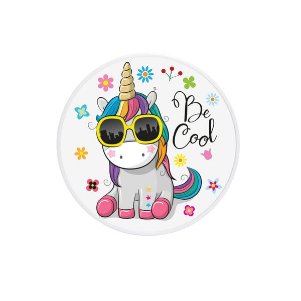 COOLGRIPS MAGNETIC PHONE GRIP MOUNT AND STAND BE COOL UNICORN