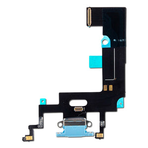 iPhone XR Charging Port Flex Cable (Blue) (4169022865472)