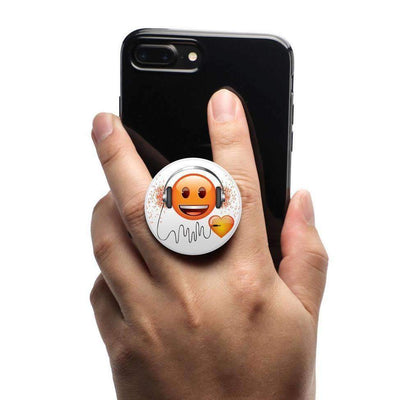 COOLGRIPS MAGNETIC PHONE GRIP AND STAND EMOJI HEARTBEAT