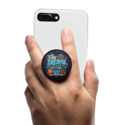 COOLGRIPS MAGNETIC PHONE GRIP AND STAND FOLLOW YOUR DREAMS