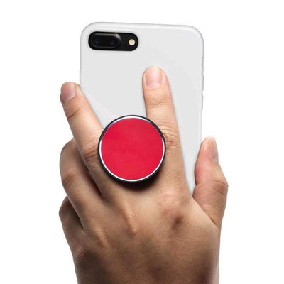 COOLGRIPS MAGNETIC PHONE GRIP AND STAND RED ALUMINUM