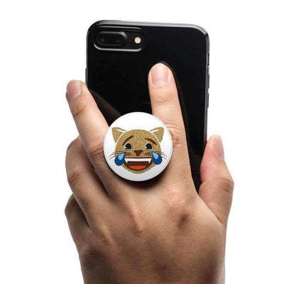 COOLGRIPS MAGNETIC PHONE GRIP AND STAND EMOJI GOLD CAT