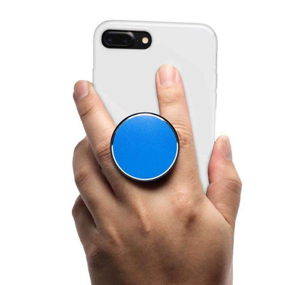 COOLGRIPS MAGNETIC PHONE GRIP MOUNT AND STAND BLUE ALUMINUM