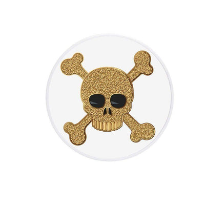 COOLGRIPS MAGNETIC PHONE GRIP AND STAND EMOJI CROSS BONES GOLD