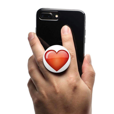 COOLGRIPS MAGNETIC PHONE GRIP AND STAND EMOJI RED HEART