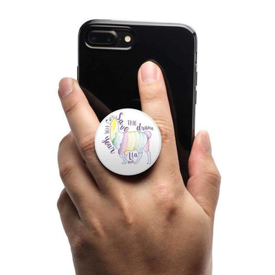 COOLGRIPS MAGNETIC PHONE GRIP AND STAND EMOJI LLAMA