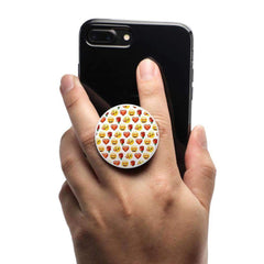 COOLGRIPS MAGNETIC PHONE GRIP AND STAND EMOJI LOVE PATTERN