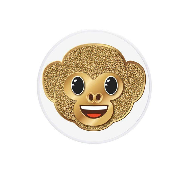 COOLGRIPS MAGNET PHONE GRIP AND STAND EMOJI MONKEY GOLD