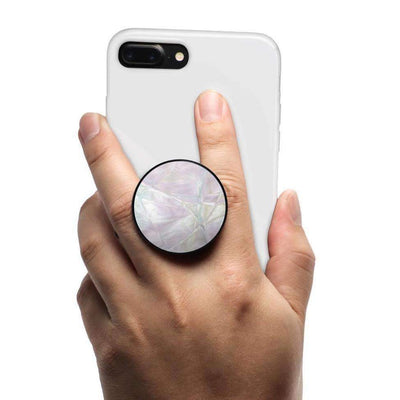 COOLGRIPS MAGNETIC PHONE GRIP MOUNT AND STAND OPAL