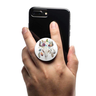 COOLGRIPS MAGNETIC PHONE GRIP AND STAND FLORAL STEER