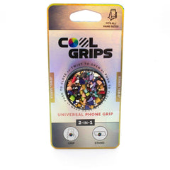 COOLGRIPS COLORFUL STONE PHONE GRIP AND STAND