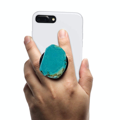 COOLGRIPS JEWEL TURQUOISE PHONE GRIP AND STAND