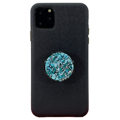 COOLGRIPS TURQUOISE STONE PHONE GRIP AND STAND