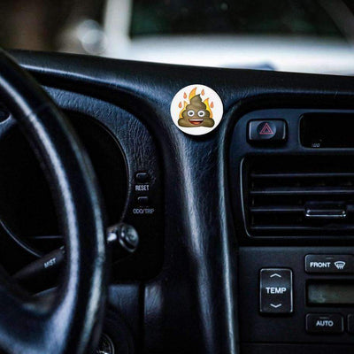 COOLGRIPS MAGNETIC DASHBOARD PHONE MOUNT EMOJI POO