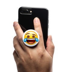 COOLGRIPS MAGNETIC PHONE GRIP AND STAND EMOJI TEARS OF JOY