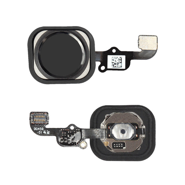 iPhone 6S Home Button with Flex Cable (Black) (4166255050816)