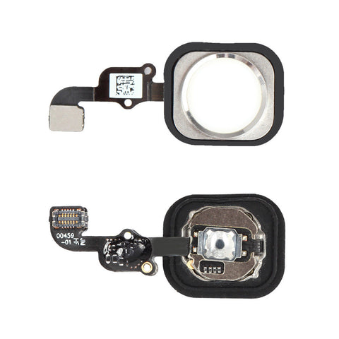 iPhone 6 Plus Home Button with Flex Cable (Silver) (4166086950976)