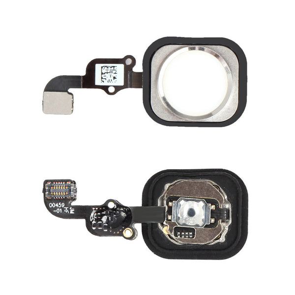 iPhone 6 Home Button with Flex Cable (Silver) (4162585133120)