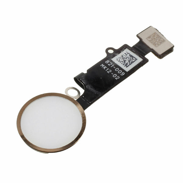 iPhone 7 Home Button with Flex Cable (Gold) (Cosmetic Only) (4166557106240)