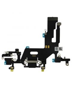 iPhone 11 Charging Port Flex Cable Premium Quality (Black)