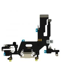 iPhone 11 Charging Port Flex Cable Premium Quality (White)
