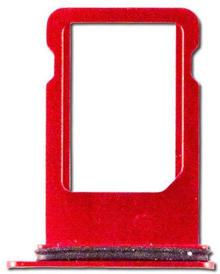 iPhone 8 Sim Tray (Red) (4168089043008)