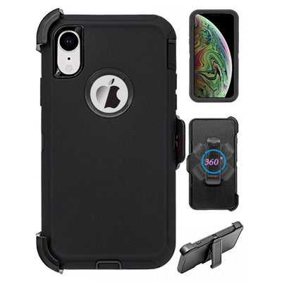 Full Protection Heavy Duty Shockproof Case for iPhone XR