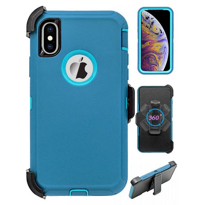 Full Protection Heavy Duty Case Compatible with Apple iPhone Xs Max