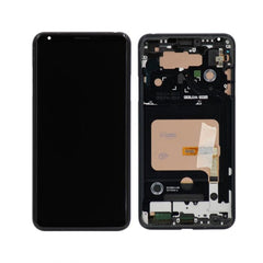 LG V30 LCD Display Touch Screen Glass Lens Digitizer Assembly with Frame (4317680336931)