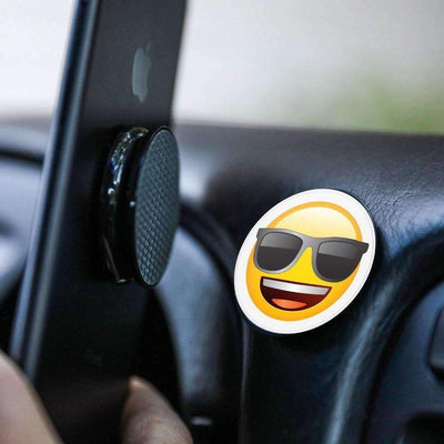 COOLGRIPS MAGNETIC DASHBOARD PHONE MOUNT EMOJI COOL