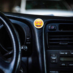 COOLGRIPS DASHBOARD MAGNETIC PHONE MOUNT EMOJI HEART EYES