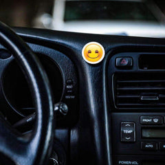 COOLGRIPS MAGNETIC DASHBOARD PHONE MOUNT EMOJI SMILEY