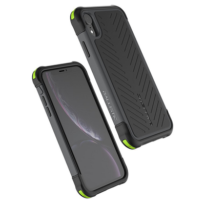 BALLISTIC TOUGH JACKET SERIES CASE FOR APPLE IPHONE XR - BLACK