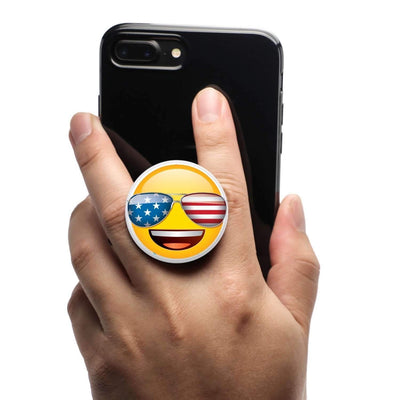 COOLGRIPS MAGNETIC PHONE GRIP AND STAND EMOJI USA FAN