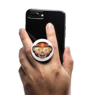 COOLGRIPS MAGNETIC PHONE GRIP AND STAND EMOJI MONKEY