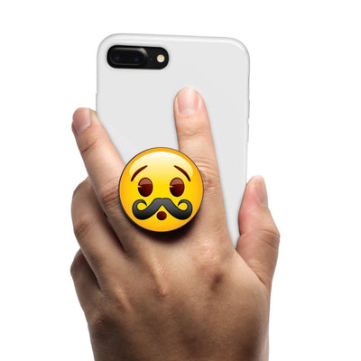 COOLGRIPS MAGNETIC PHONE GRIP AND STAND EMOJI MUSTACHE