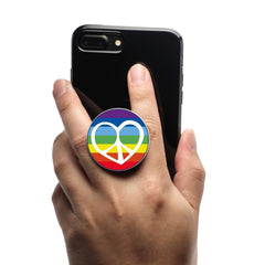 COOLGRIPS MAGNETIC PHONE GRIP MOUNT STAND EMOJI RAINBOW