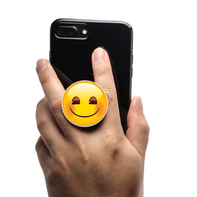 COOLGRIPS MAGNETIC PHONE GRIP AND STAND EMOJI SMILING FACE