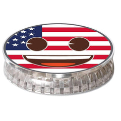 COOLGRIPS MAGNET PHONE GRIP AND STAND EMOJI AMERICAN FLAG SMILEY