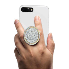 COOLGRIPS JEWEL SERIES PHONE GRIP AND STAND GLITTER PENDANT