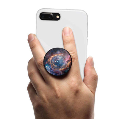 COOLGRIPS MAGNETIC PHONE GRIP MOUNT AND STAND STAR GALAXY NEBULA