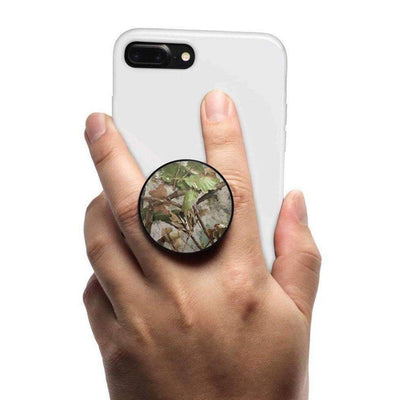 COOLGRIPS MAGNETIC PHONE GRIP MOUNT AND STAND TREE CAMO