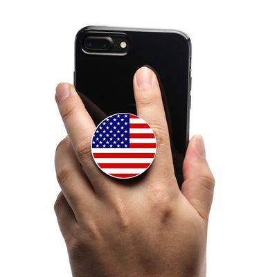 COOLGRIPS MAGNETIC PHONE GRIP AND STAND AMERICAN FLAG USA