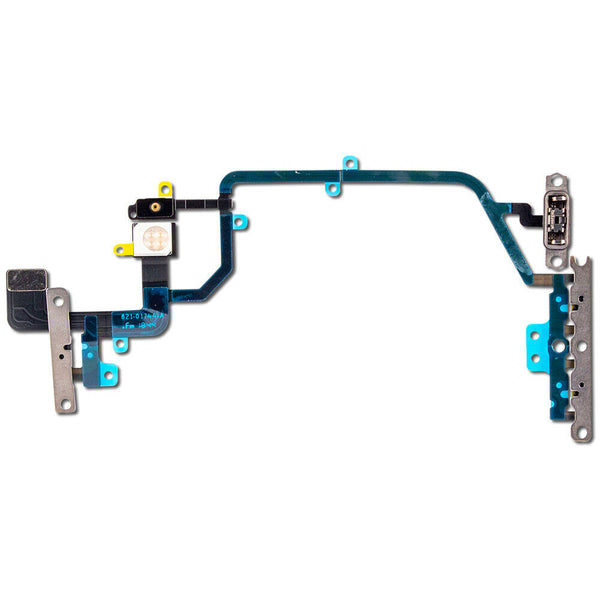 iPhone XR Power Button, Mic, Camera Flash LED Flex Cable (4169018769472)