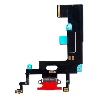 iPhone XR Charging Port Flex Cable (Red) (4169023094848)