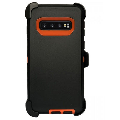 Full Protection Heavy Duty Case Compatible with Samsung Galaxy S10 Plus