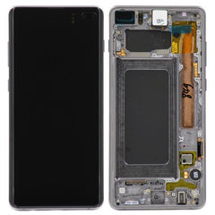 Samsung Galaxy S10 Plus LCD Digitizer Assembly with Frame (Black) (4286241308736)